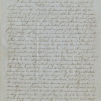 Letter from James Van de Velde, S.J. to Thomas Mulledy, S.J., March 28, 1848