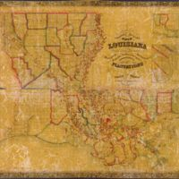 La Tourette Map of Louisiana 1848.jpg