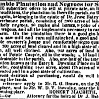 NODP 1852-02-18 Ad for Batey plantation and negroes.jpg