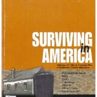 """""""I know that my Bennett ancestors were slaves to the Jesuits..."""": Interviews with descendants in Maryland from Louis Diggs' Surviving in America."""